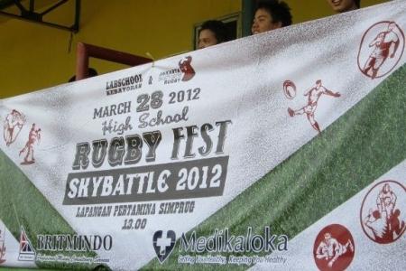 2012 Skybattle Schools Rugby