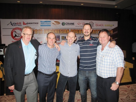 2012 Indonesian Rugby Charity Lunch was an Overwhelming Success