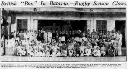 Indonesian Rugby Flashback in Time