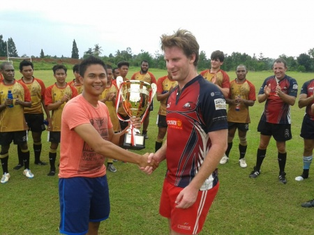 "Komodos Win the ""2013 Fez by Aphrodite Jakarta 15's Series"""
