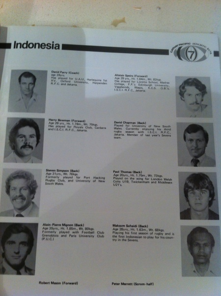 Maxsum Suhaidi the First Indonesian Rugby International