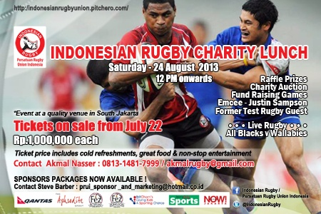 2013 Indonesian Rugby Charity Lunch