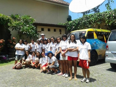 Cendrawasih Muda Shine in the Bali Sun