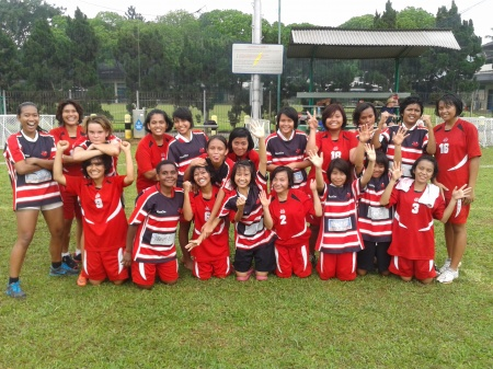 Boys and Girls Enjoy Schools Rugby at BIS
