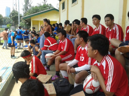 Skybattle Rugby Festival 2014 @ Panahan Senayan Field