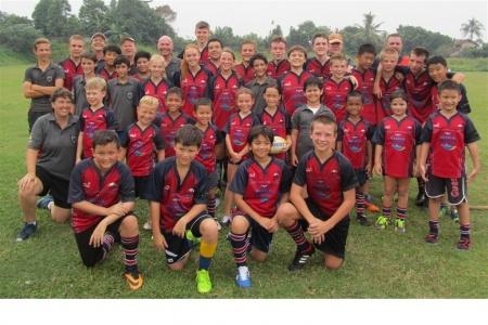 Jakarta Komodos Junior Rugby 2014-15