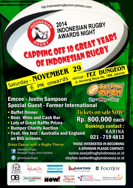 2014 Indonesian Rugby Awards Night