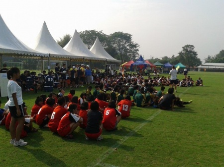 Fantastic Day of Jakarta Schools Rugby at SPH