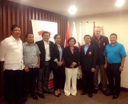 PRUI Officials Meet KOI President Rita Subowo