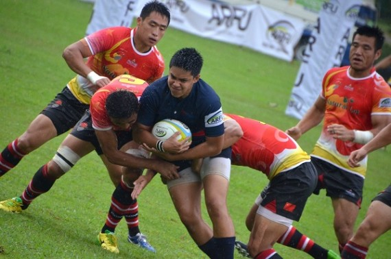 Guam claim first Asian Rugby title in a decade with win over China
