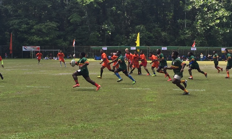 The first Rugby Tournament in Papua