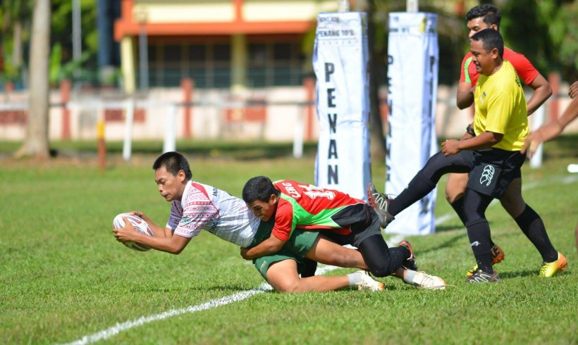Tim Rugby Indonesia di Penang 10s