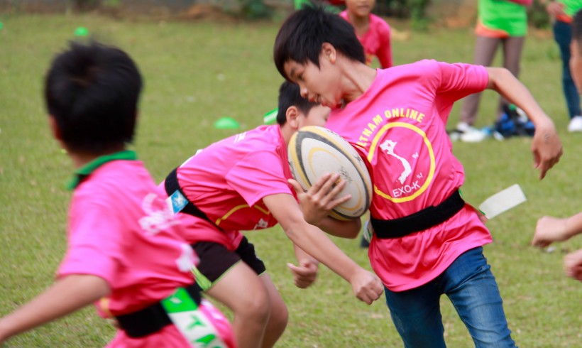 Pass It Back: Developing Rugby Among Local Kids And Developing Local Kids Through Rugby