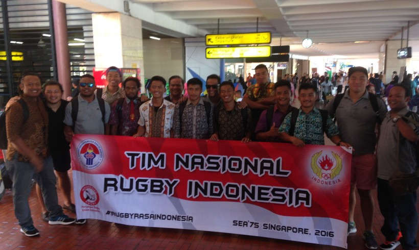 Indonesian Rugby Sevens team are ready to compete in the SEA 7s Tournament