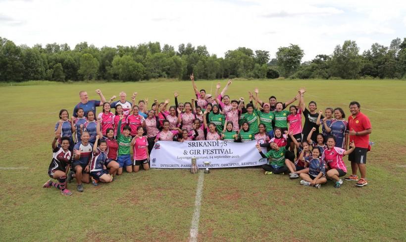 Turnamen Srikandi Sevens dan Get Into Rugby Jagorawi