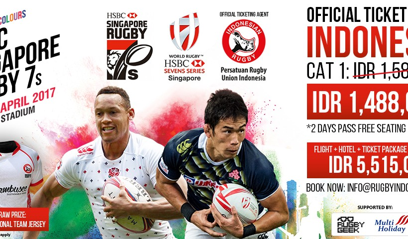Singapore Rugby 7s 2017 Ticket on Sale