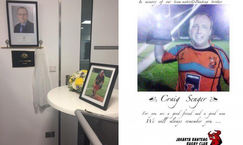 Jakarta Banteng Rugby Club Menghadiri Persemian Craig Senger Wing di Kedutaan Besar Australia