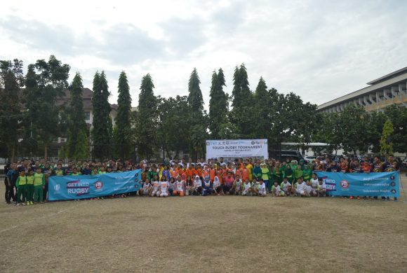 Rugby Introduction as a Community Service from Universitas Negeri Yogyakarta