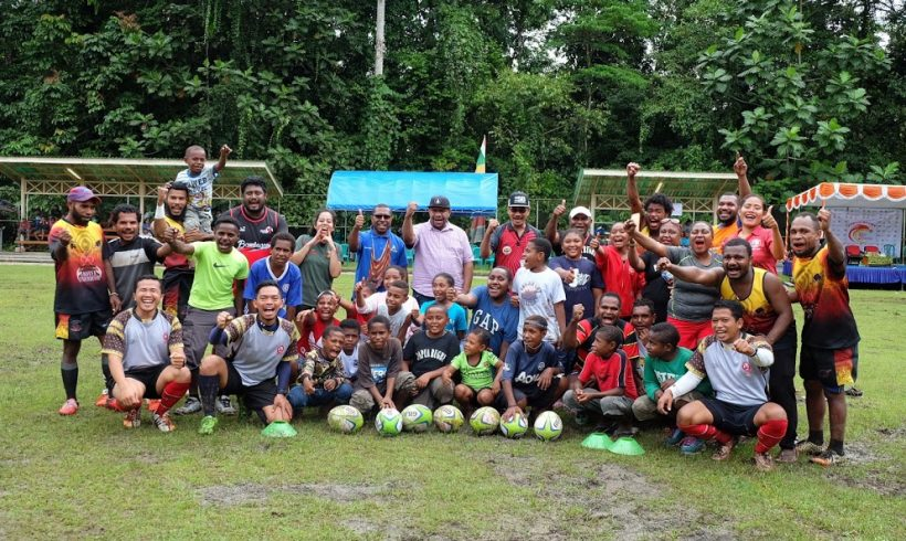 World Rugby Coaching Course Level 1 and GIR Session in Papua