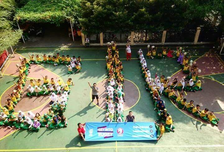 PRUI DKI Jakarta Get Into Rugby Spirit