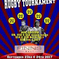 Turnamen Internasional Rugby Junior Bali 2017