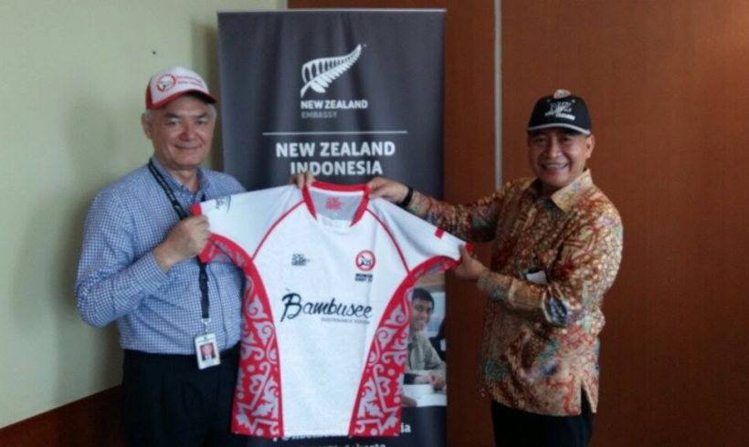 PRUI Visited New Zealand Embassy in Jakarta