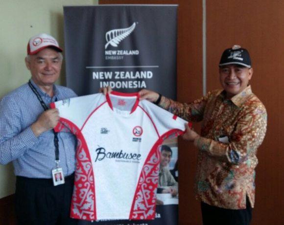 Kunjungan PB PRUI ke Kedubes New Zealand