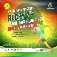 Kejuaraan Nasional Rugby 7s antar Perguruan Tinggi 2018