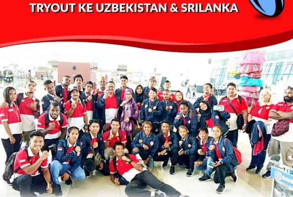 Timnas Rugby 7s Putra dan Putri Try Out ke Uzbekistan dan Sri Lanka