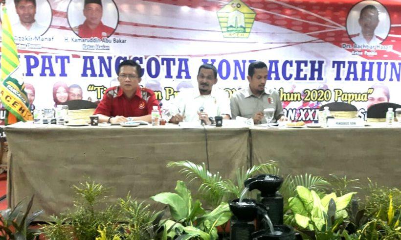 PRUI Aceh Diterima Sebagai Anggota Penuh KONI Aceh