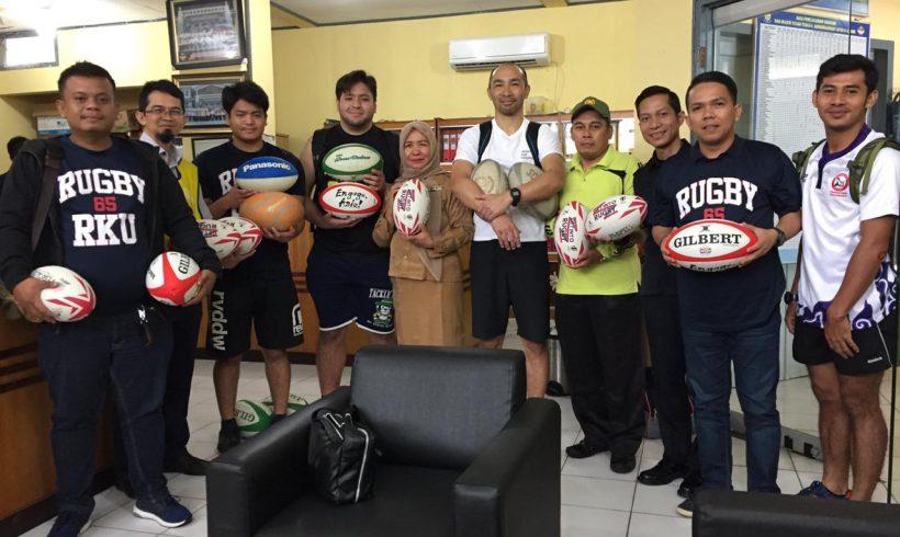 Ryutsu Keizai University Rugby berkunjung kembali ke Indonesia