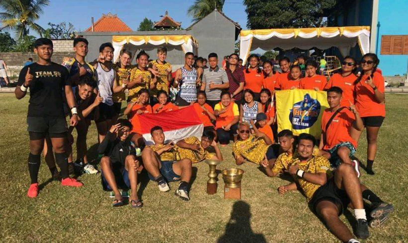 Bulan Juli penuh Rugby di Indonesia