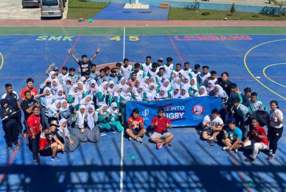PRUI Jawa Barat Memperkenalkan Rugby ke 482 Anak dalam waktu 5 Hari