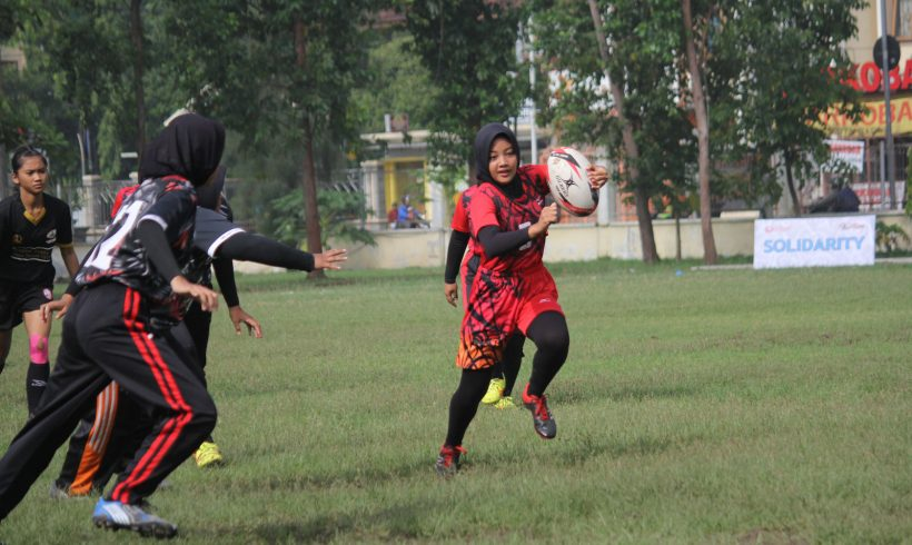 Festival Rugby pertama di Jawa Tengah
