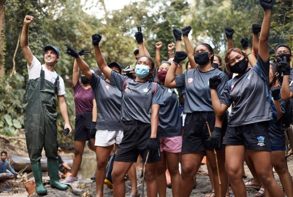 Rugby Bali Team Up with Sungai Watch to Help Spread Awareness on the Environment